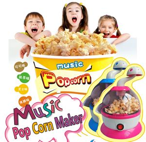 Music pop corn maker