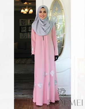 LE ANNE DRESS - SOFT PINK