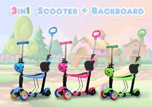 3 in 1 scooter + backboard  ready