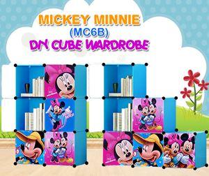 Mickey Minnie Blue 6C DIY Wardrobe (MC6B)