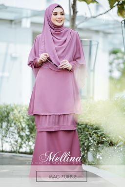 ~TS~ MELLINA STYLISH KURUNG 💕 (Mag Purple)