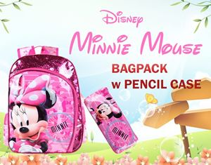 MINNIE BAGPACK w PENCIL CASE