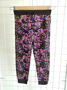 [SIZE 1Y - 5Y] Jogger Pant Colorful Abstract Black: Size 1y-6y (1 - 6 tahun) TW
