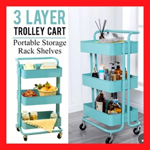 3 LAYER TROLLEY