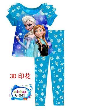 Ailubee Pyjamas - Frozen A041 (8-2y)