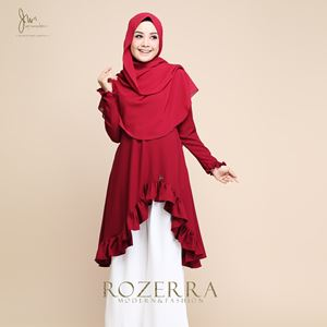 ROZERRA MODERN & FASHION (Rose Maroon)