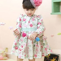 Rose Floral Long Sleeve Dress