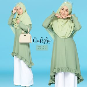 BLOUSE QALISHA - OLIVE GREEN