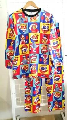 Pyjamas DUCK CAP : Size DEWASA L, 2XL