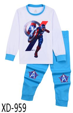 XD-959 'CAPTAIN AMERICA' KIDS PYJAMAS