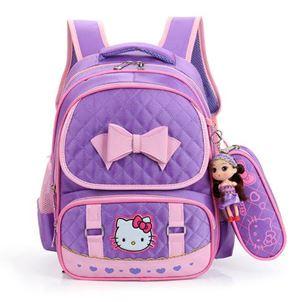 Hello Kitty Bag Set  ( PURPLE )