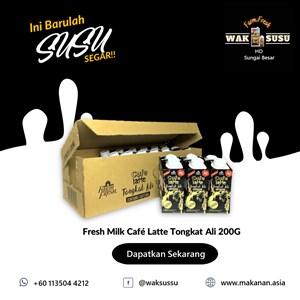 Fresh Milk Café Latte Tongkat Ali 200G X 24 PKTS