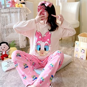 LADIES  PYJAMAS  - DAISY    (  SIZE M - 2XL )