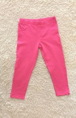 Legging Pant HOT PINK - SIZE 6M - 24M & 3Y - 7Y (KF)