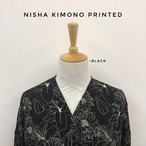 NISHA KIMONO PRINTED