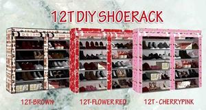 NEW DESIGN 12T DIY SHOERACK