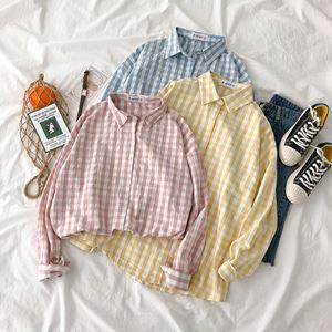 Polo Irregular Plaid Shirt