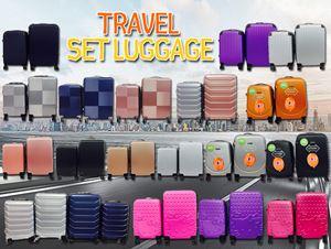 Travel Luggage Trolley set 2in1 (20