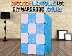 CHECKER 12C DIY WARDROBE (CWL12)