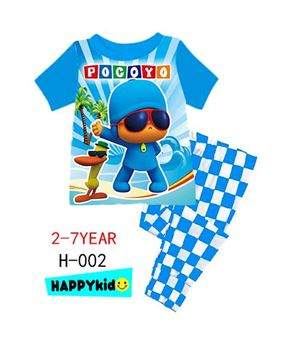 @  H-002  POCOYO BLUE  { SIZE 6M-12Y }  ( P0153P /  P01659P )
