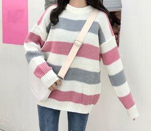 Thick Wool Stripe Jumper