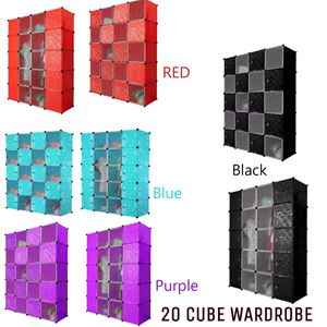 20 cube plain color
