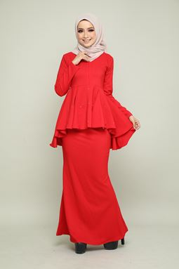 BELLA KURUNG - CHILI RED