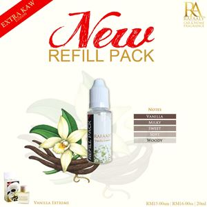REFILL PACK 20ml - Extra Kaw Vanilla Extreme