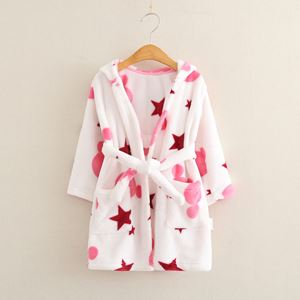 XIANDRA FLANNEL BATHROBES