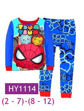 HY1114 Tsum Tsum Pyjamas (2 - 7 tahun)(8 - 12tahun)