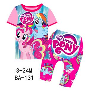BA-131 'Little Pony' Pyjamas (3M-24M)