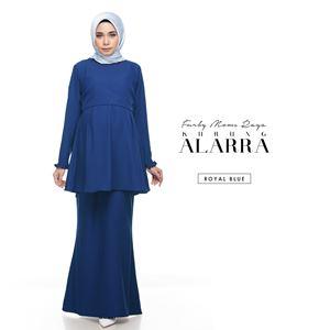 Alarra Kurung - Royal Blue
