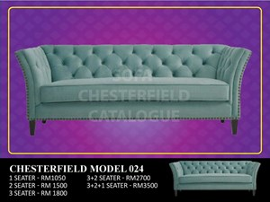 HIGH QUALITY CHESTERFIELD MODEL 024