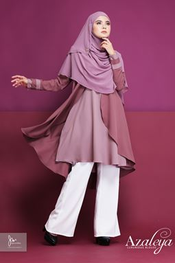 AZALEYA LUXURIOUS BLOUSE (DUSTY PINK) Y.E.S 02
