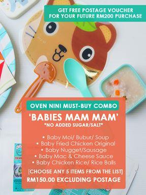 Baby Mam-Mam Combo