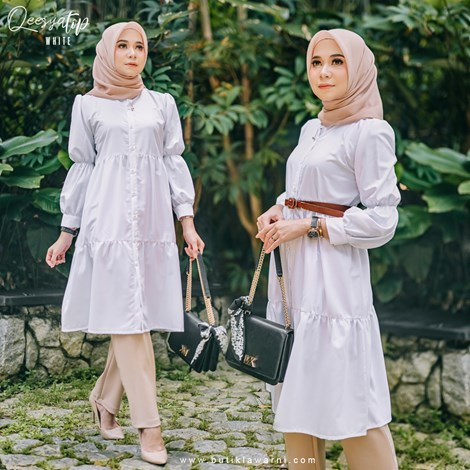 QEESYA TOP WHITE