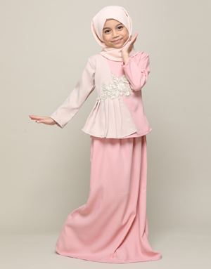 LINANG KIDS IN DUSTY PINK