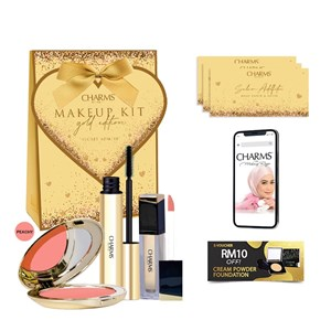 SET MAKE UP CHARMS EKSKLUSIF EDISI SECRET ADMIRE