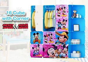 12 CUBE  WARDROBE ( Mickey nd Minnie )