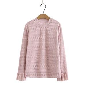 Lace Blouse (Light Pink)