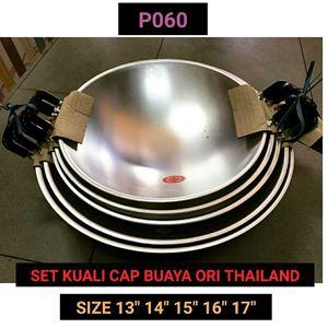 P060 KUALI CAP BUAYA ALUMINIUM (SET)