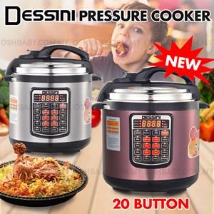 NEW VERSION DESSINI PRESSURE COOKER 6L/8L (20 BUTTON)