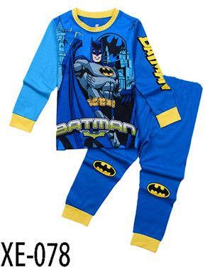XE-078 'Batman' Pyjama (2 - 7 tahun)