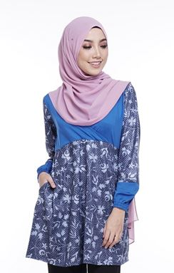 Ella Misaki (QM113)  Blouse - Only size XL and 2XL available