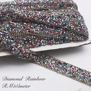 Diamond Trimming Rainbow