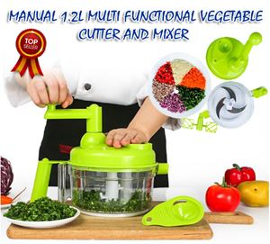 Manual 1.2L Multi Functional Vegetable Cutter and Mixer