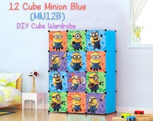 Minion BLUE 12C DIY WARDROBE (MN12B)