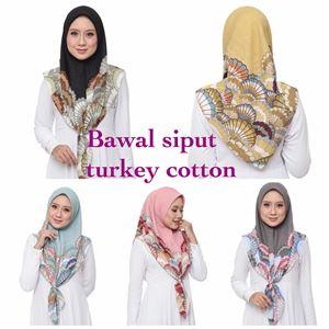 BAWAL SIPUT TURKEY COTTON (BORONG)