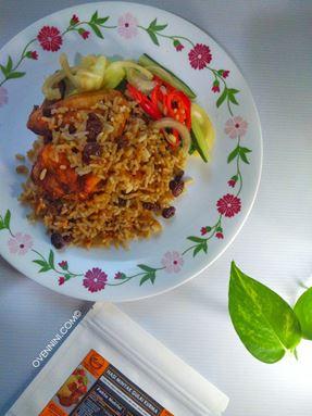 Nasi Minyak Kurma ala Briyani/ Nasi All- in- 1