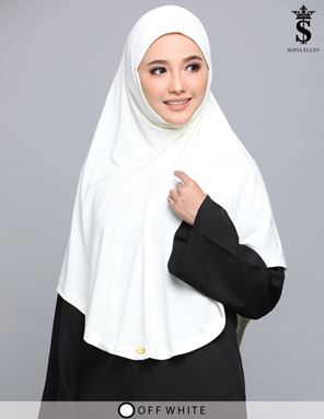 OFF WHITE HIJAB